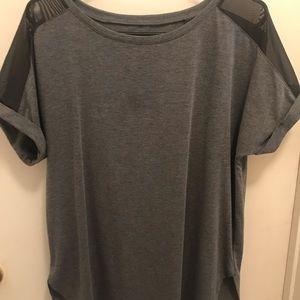 Women's Avia grey workout shirt